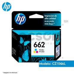 Cartucho de Tinta HP 662 ColorOriginal (CZ104AL)