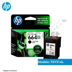 Cartucho de Tinta HP 664XL negro Original (F6V31AL )