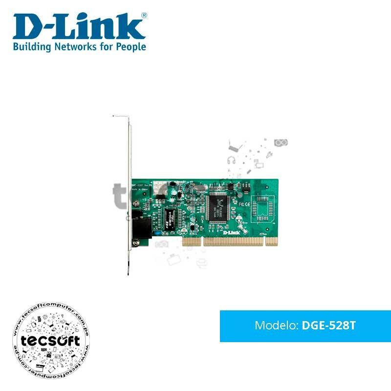 Tarjeta de Red 10/100/1000 Mbps D-Link DGE-528T