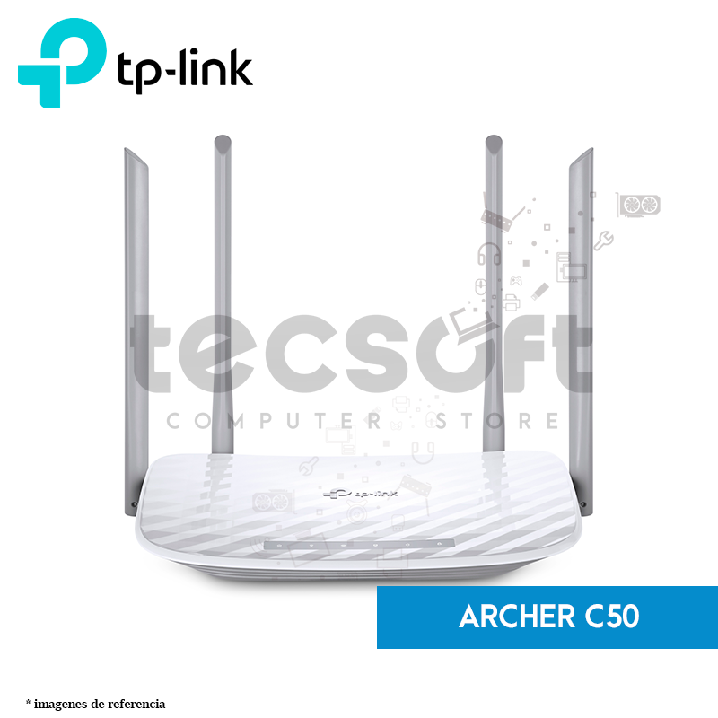 Router Inalámbrico de Doble Banda AC1200 (Archer C50)