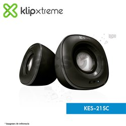 Parlantes estéreo multimedia 2.0 Eklipse (KES-215C)