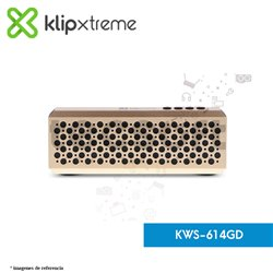 Parlante portátil con tecnología Bluetooth® RefleXion (KWS-614GD)