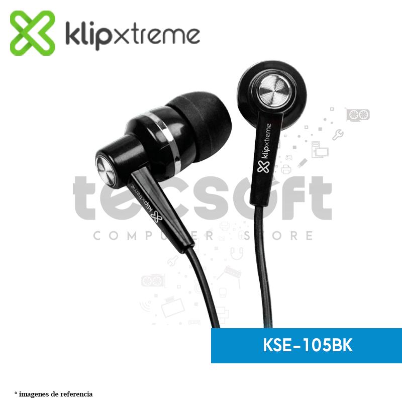 Audífonos estéreo con cable KSE-105BK