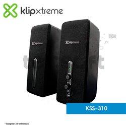 Parlantes estéreo multimedia 2.0 StereoBytes KSS-310
