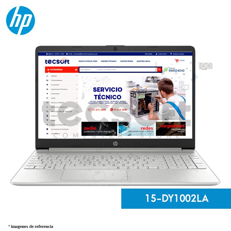Laptop HP - 15-DY1002LA 8GB RAM/ 16GB Optane/ (SSD) de 256 GB