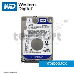 "Disco Duro 2.5"" 500GB 5400rpm 16MB SATA3"