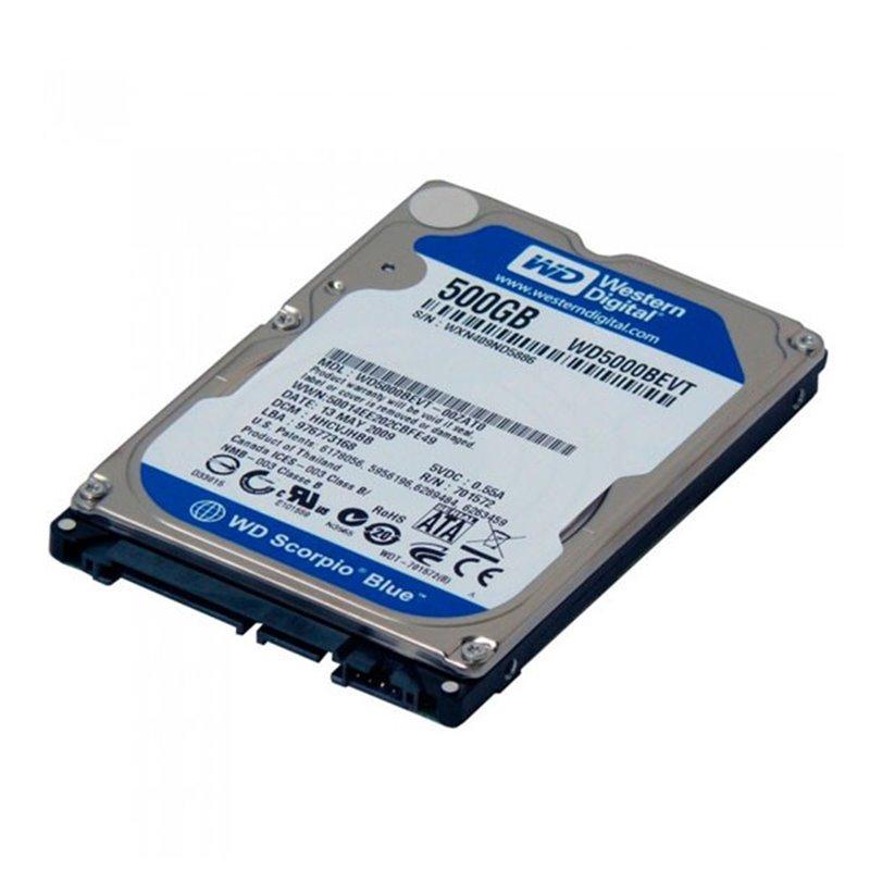 Disco Duro para Notebook Sata3 500Gb WD Blue WD5000LPVX