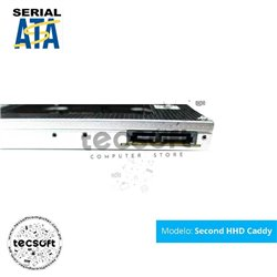 Segundo Disco Duro Hdd Caddy Sata Ssd 9.5mm para Macbook Laptop