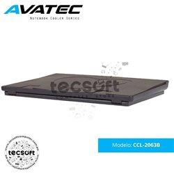 AVATEC - COOLER PARA LAPTOP CCL-2063B CON MALLA METÁLICA