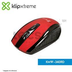 Mouse óptico inalámbrico Klever (KMW-340RD)