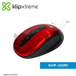 Mouse óptico inalámbrico  6 Botones Vector KMW-330RD