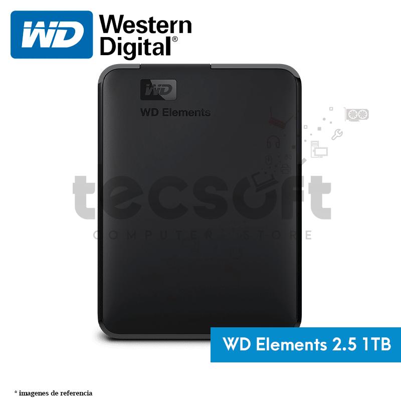 """Disco Duro portátil 2.5"""" 1TB de Almacenamiento USB 3.1"""