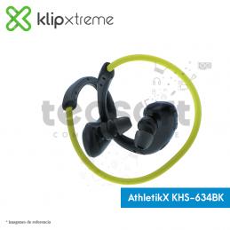 Audífonos AthletikX KHS-634BK con micrófono Bluetooth®