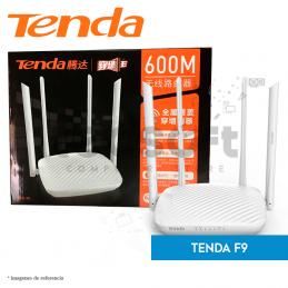 Router inalámbrico Tenda de 600 Mbps (F9)