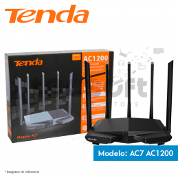 Routers Enrutador Tenda doble banda 1167 Mbps (AC7)