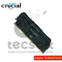 MEM. RAM CRUCIAL 8GB KIT 2...