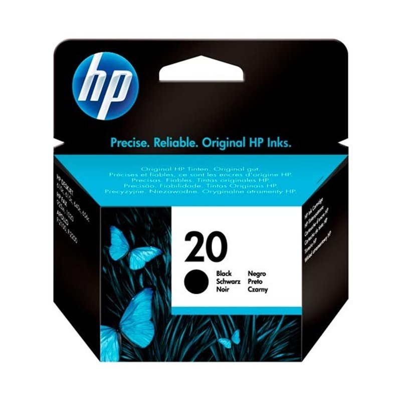 Tinta HP 20 Negro