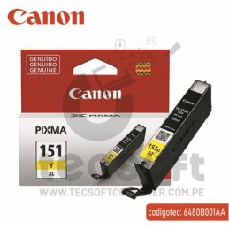 CARTUCHO CANON 151 XL Y YELLOW