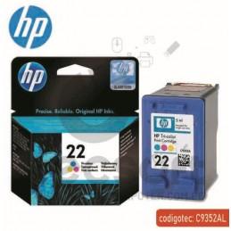 Tinta HP 22 Tricolor