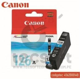 Canon CLI-126 Cyan Cartucho