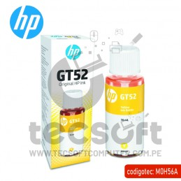 TINTA HP M0H56AL (GT52) YELLOW