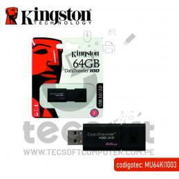 Memoria Flash USB Kingston...