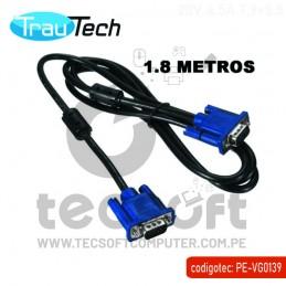 Cable Vga De 1.8 Metros 15...