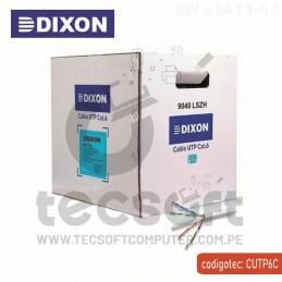 CABLE UTP DIXON CAT6 9040...