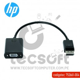 HP Display Port to VGA Adapter