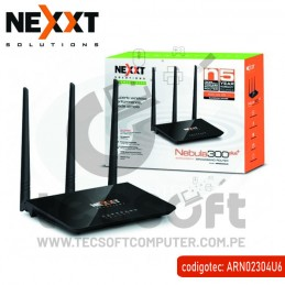 Router Inalámbrico-N 300Mbps