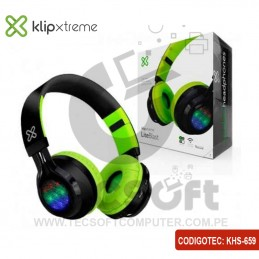 Auriculares con luces LED...