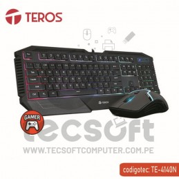 Kit Teclado Mouse Teros...