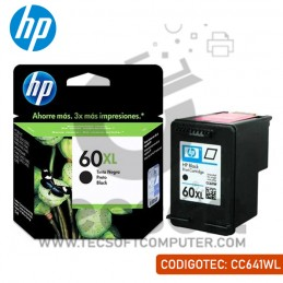 Cartucho de Tinta HP 60XL...