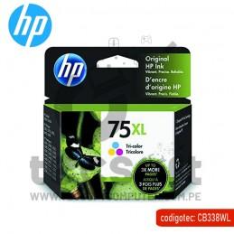 Tinta HP 75XL Tricolor