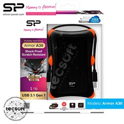 Disco Duro Externo Silicon Power 1GB USB 3.1