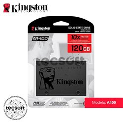 Disco Duro SSD Kingston A400 120GB