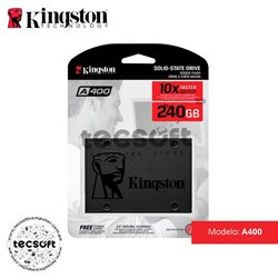Disco Duro SSD Kingston A400 240GB