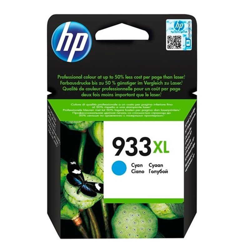 Tinta HP 933XL Cyan