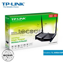 Router Inalámbrico Alta Potencia N 300Mbps - Tp-Link
