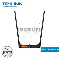 Router Inalámbrico Alta Potencia N 300Mbps - Tp-Link