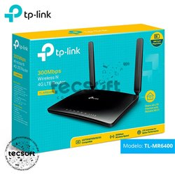 Router 4G LTE Inalámbrico N 300Mbps TL-MR6400