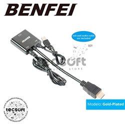 Convertidor HDMI A Vga (macho A Hembra) BENFEI