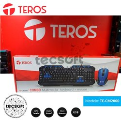 Teclado Multimedia TE-CM2000 Teros (COMBO)
