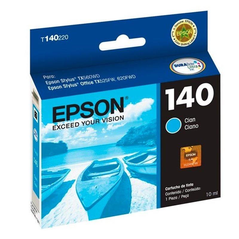 Tinta Epson 140 Cyan