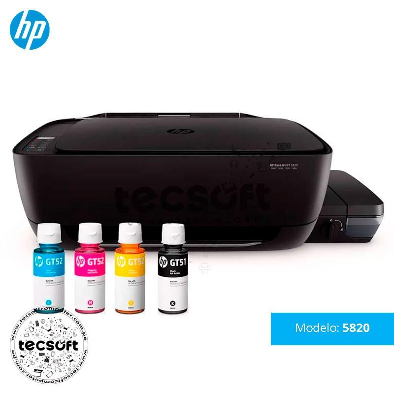 Impresora Todo en Uno HP DeskJet GT 5820