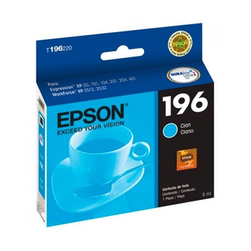 Tinta Epson 196 Cyan