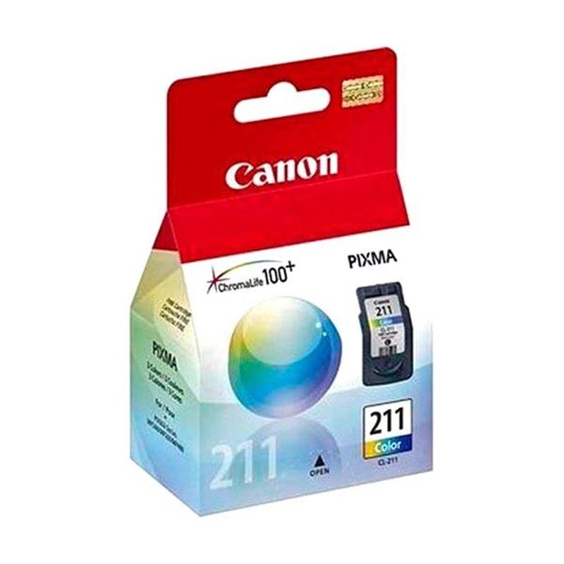 Tinta Canon 211 Tricolor