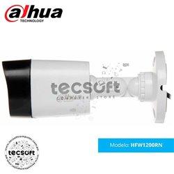 Cámara Tubo Exterior Plast Dahua DH-HAC-HFW1200R-S3