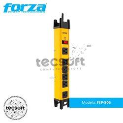 Supresor de pico FORZA FSP-806 6 Tomas