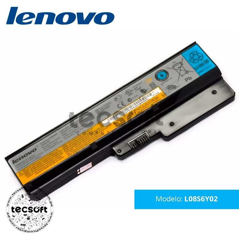 Batería Lenovo L08S6Y02 [6 Cells 5200mAh/48Wh 11.1V]